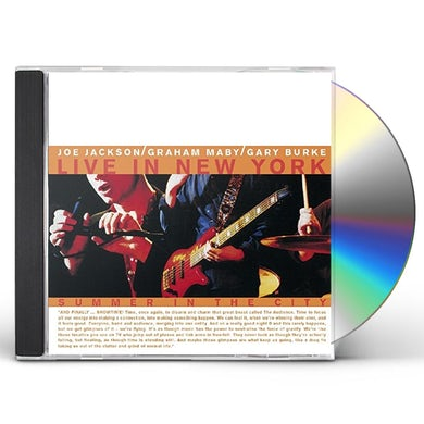 Joe Jackson SUMMER IN THE CITY / LIVE CD