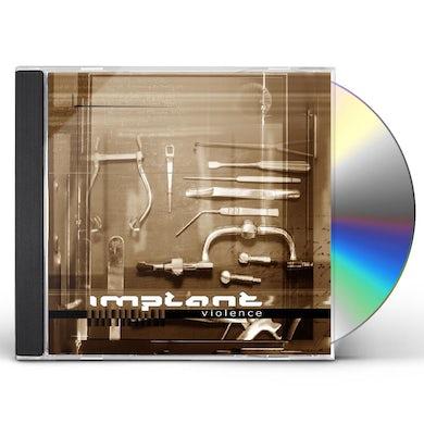 Implant VIOLENCE CD
