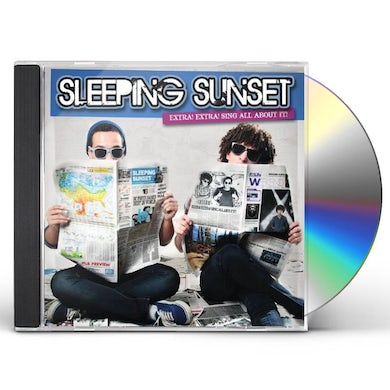 Sleeping Sunset EXTRA! EXTRA! SING ALL ABOUT IT! CD