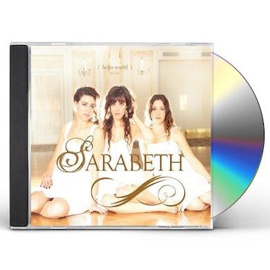 SaraBeth HELLO WORLD CD