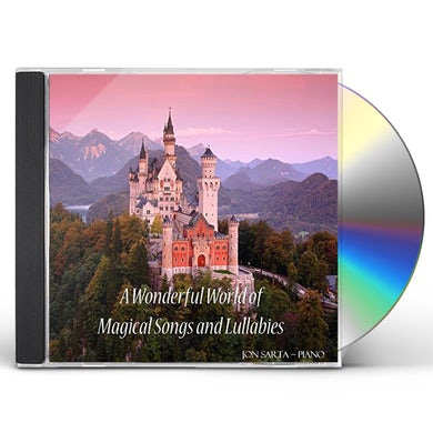 Jon Sarta WONDERFUL WORLD OF MAGICAL SONGS & LULLABIES CD