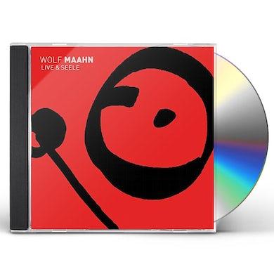 Wolf Maahn LIVE UND SEELE CD