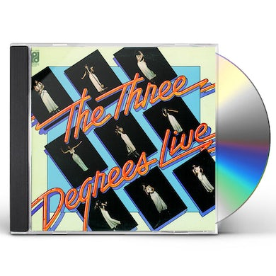 THREE DEGREES LIVE CD