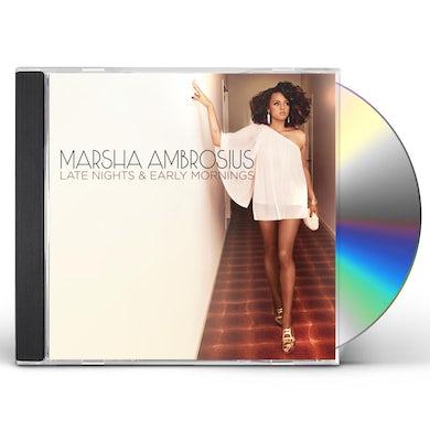 Marsha Ambrosius LATE NIGHTS & EARLY MORNINGS CD