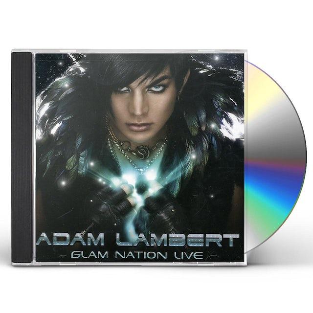Adam Lambert GLAM NATION LIVE CD