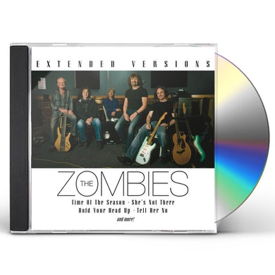 The Zombies EXTENDED VERSIONS CD