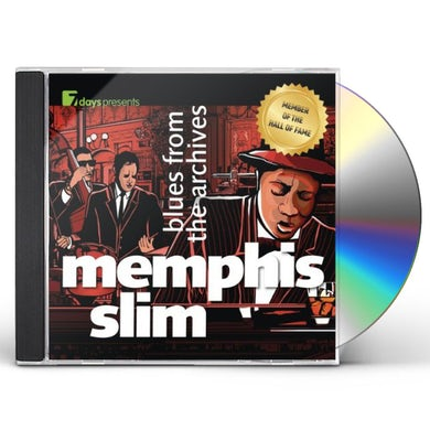 Slim Memphis  BLUES FROM THE ARCHIVES CD