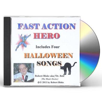 Robert Blake FAST ACTION HERO CD
