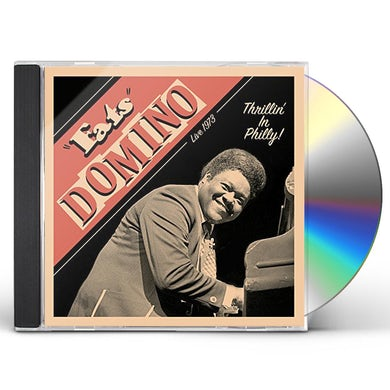 Fats Domino THRILLIN' IN PHILLY - LIVE 1973 CD
