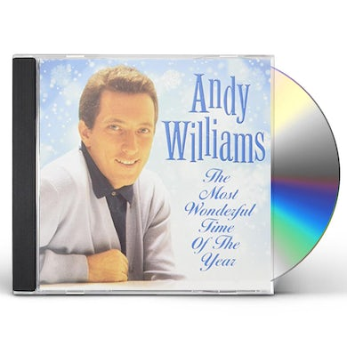 Andy Williams MOST WONDERFUL TIME OF THE YEAR CD