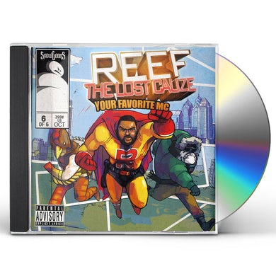 Snowgoons REEF THE LOST CAUSE: YOUR FAVORITE MC CD