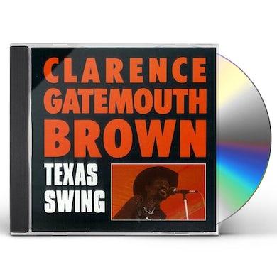 Clarence Gatemouth Brown TEXAS SWING CD