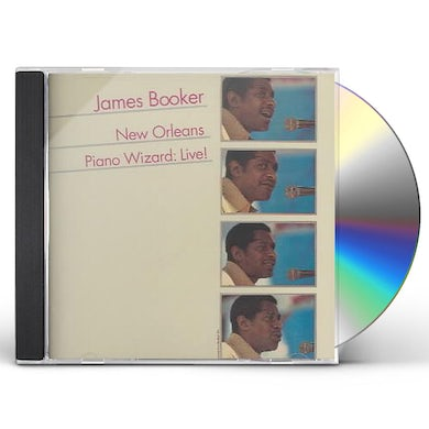 James Booker NEW ORLEANS PIANO WIZARD: LIVE CD