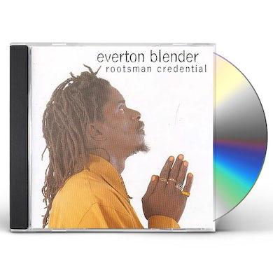 Everton Blender ROOTSMAN CREDENTIAL CD