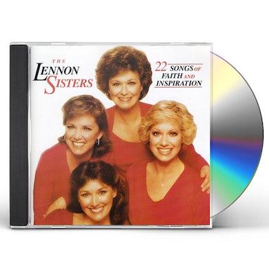 Lennon Sisters 22 SONGS OF FAITH & INSPIRATION CD
