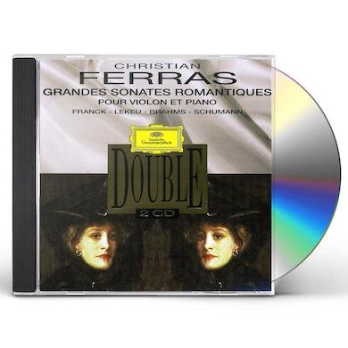 Christian Ferras FERRAS-SONATES ROMANTIQUES CD