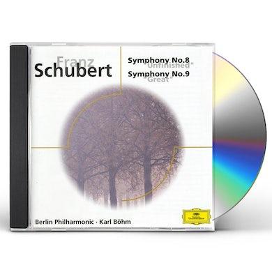 Karl Bohm SCHUBERT: SINF.8-9 INCONCLUSA CD