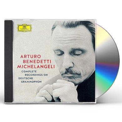 Arturo Benedetti Michelangeli MICHELANGELI - COMPLETE RECORDINGS ON DEUTSCHE GRA CD