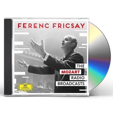 Ferenc Fricsay UNRELEASED MOZART RADIO BROADCASTS CD