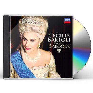 Cecilia Bartoli QUEEN OF BAROQUE CD