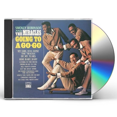Smokey Robinson & Miracles GOING TO GO-GO / AWAY WE GO-GO CD