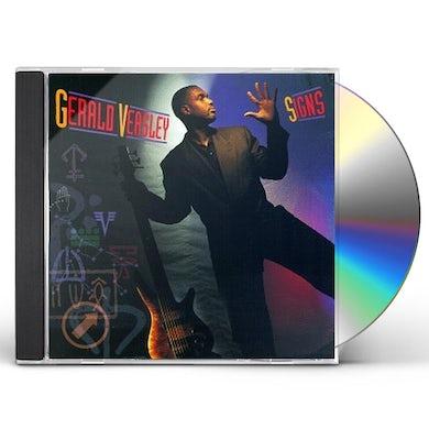 Gerald Veasley SIGNS CD
