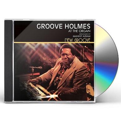 Richard Groove Holmes NEW GROOVE CD