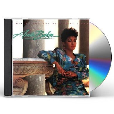 Anita Baker GIVING YOU THE BEST I GOT CD