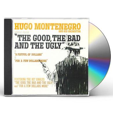 Hugo Montenegro GOOD BAD & UGLY / FISTFUL CD