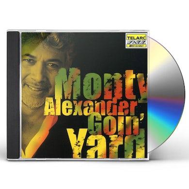 Monty Alexander GOIN YARD CD