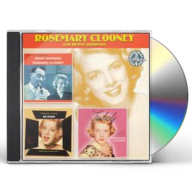 Rosemary Clooney DATE WITH THE KING: ON STAGE TENDERLY CD