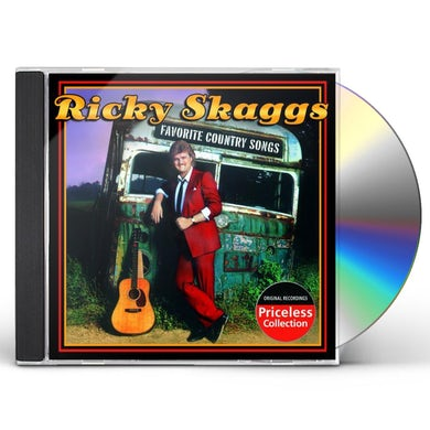 Ricky Skaggs FAVORITE COUNTRY SONGS CD