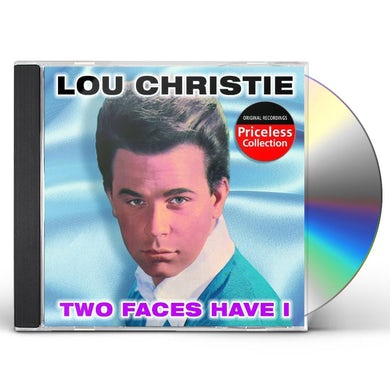 Lou Christie TWO FACES HAVE I CD