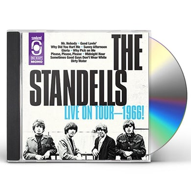 The Standells LIVE 1966 CD