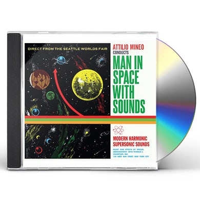 MAN IN SPACE WITH SOUNDS CD