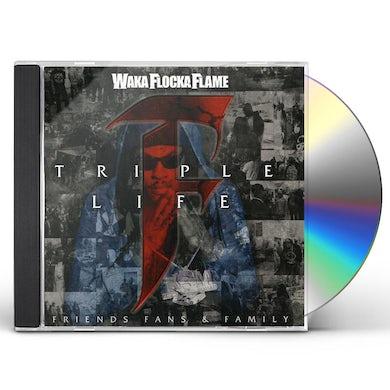 Waka Flocka Flame TRIPLE F LIFE: FRIENDS FANS & FAMILY CD