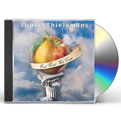 Toots Thielemans EAST COAST WEST COAST CD