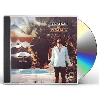 Ben Sidran FREE IN AMERICA CD