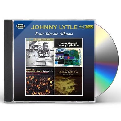 Johnny Lytle BLUE VIBES / HAPPY GROUND CD