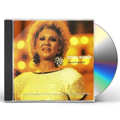 Tammy Wynette WELCOME TO MY WORLD CD