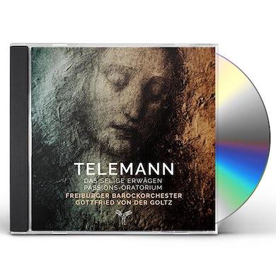 Freiburger Barockorchester TELEMANN: DAS SELIGE ERWAGEN CD