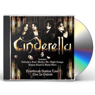 Cinderella HEARTBREAK STATION TOUR LIVE IN DETROIT CD