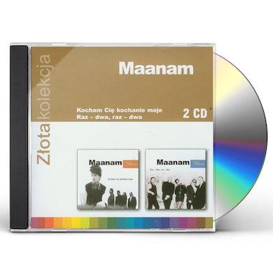 Maanam ZLOTA KOLEKCJA 1 & 2 CD