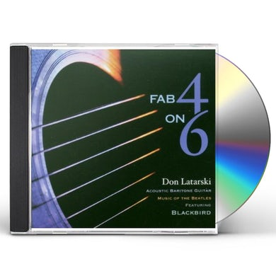 Don Latarski FAB 4 ON 6 CD