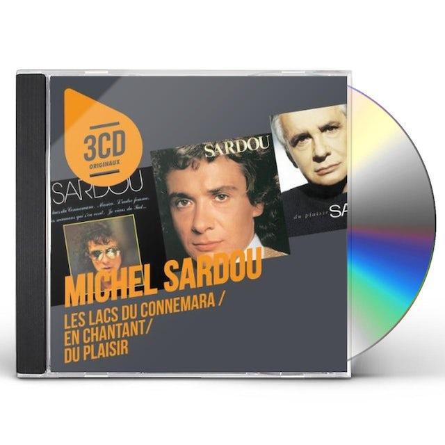 Michel sardou 3CD ORIGINAUX CD