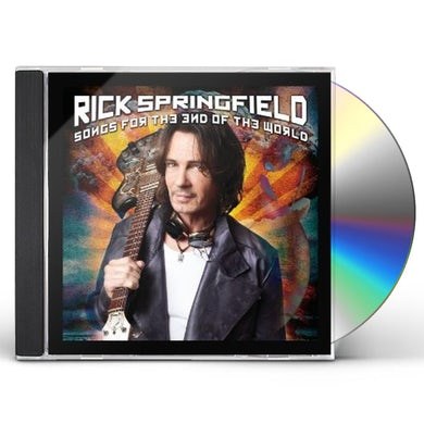 Rick Springfield SONGS FOR THE END OF THE WORLD CD