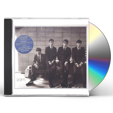 2AM F.SCOTT FITZGERALD'S WAY OF LOVE (ASIAN LIMITED) CD