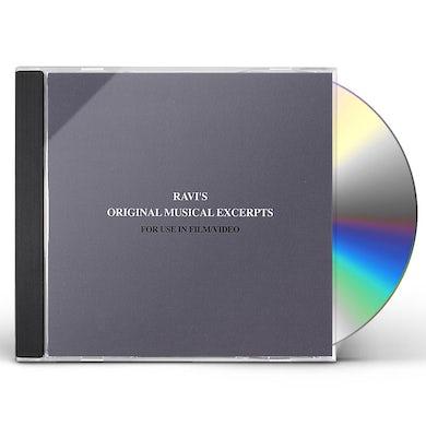 Ravi POLIAH'S ORIGINAL MUSICAL EXCERPTS FOR TV/FIL CD
