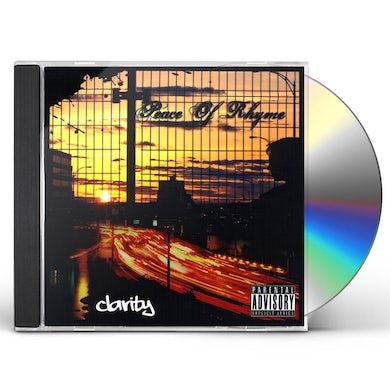 CLARITY PEACE OF RHYME CD
