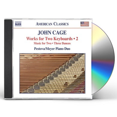 Cage WORKS FOR TWO KEYBOARDS VOL 2 CD